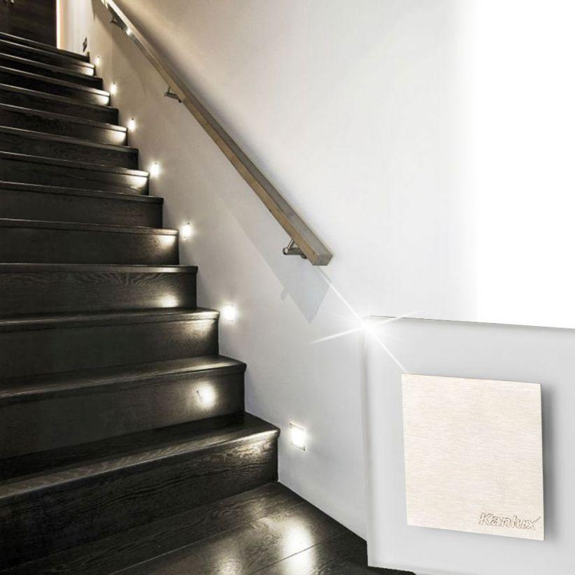 Spot LED encastrable pour mur Carreau