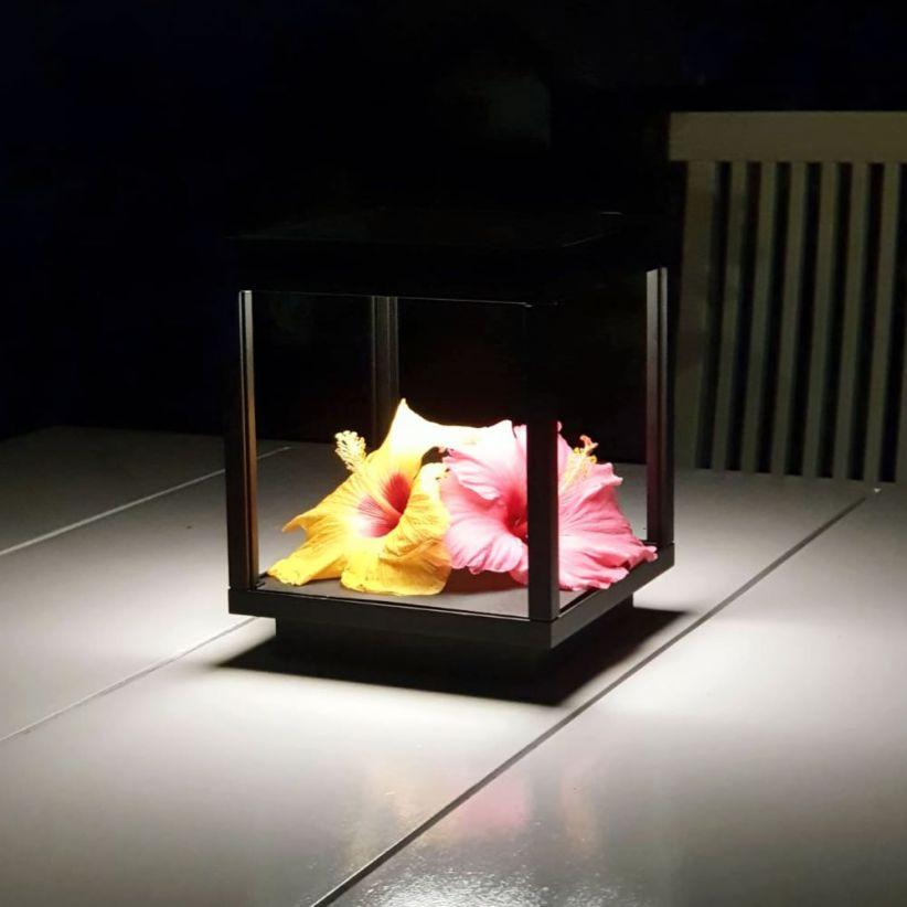 Lampe LED extérieure rechargeable Visor