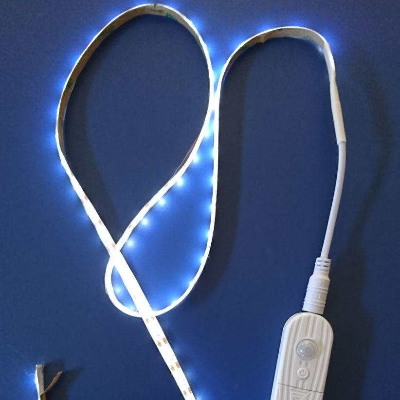 Ruban LED autonome avec détecteur