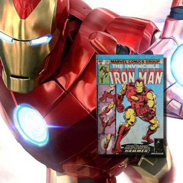 Livre lumineux Iron Man Marvel