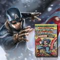 Livre lumineux Captain America