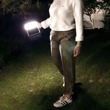 Lampe LED solaire Visor