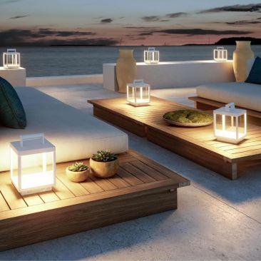 Lampe LED VISOR BLANCO ALUMINIUM 5W 120º