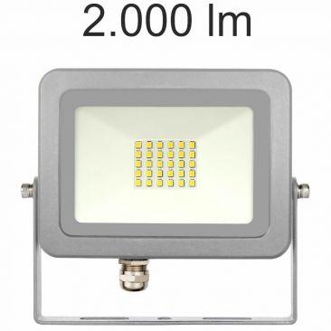 Projecteur LED 20 Watts Sky gris