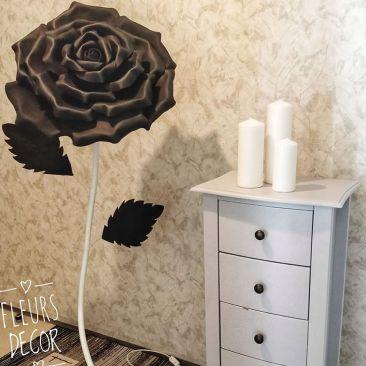 Lampadaire LED Rosa Black