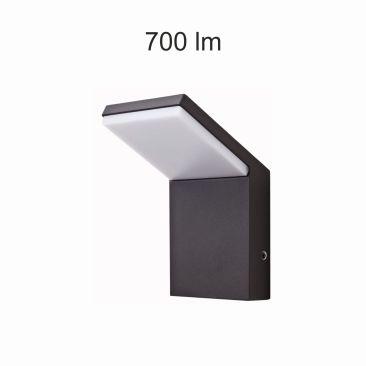 Applique LED Neo noire 9 Watts