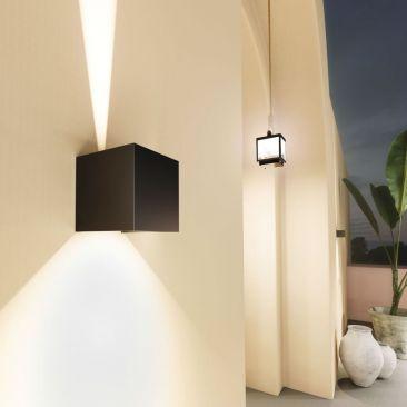 Applique LED extérieure LEK noire