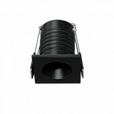 Mini spot LED encastrable Pulsar noir 3.5 Watts