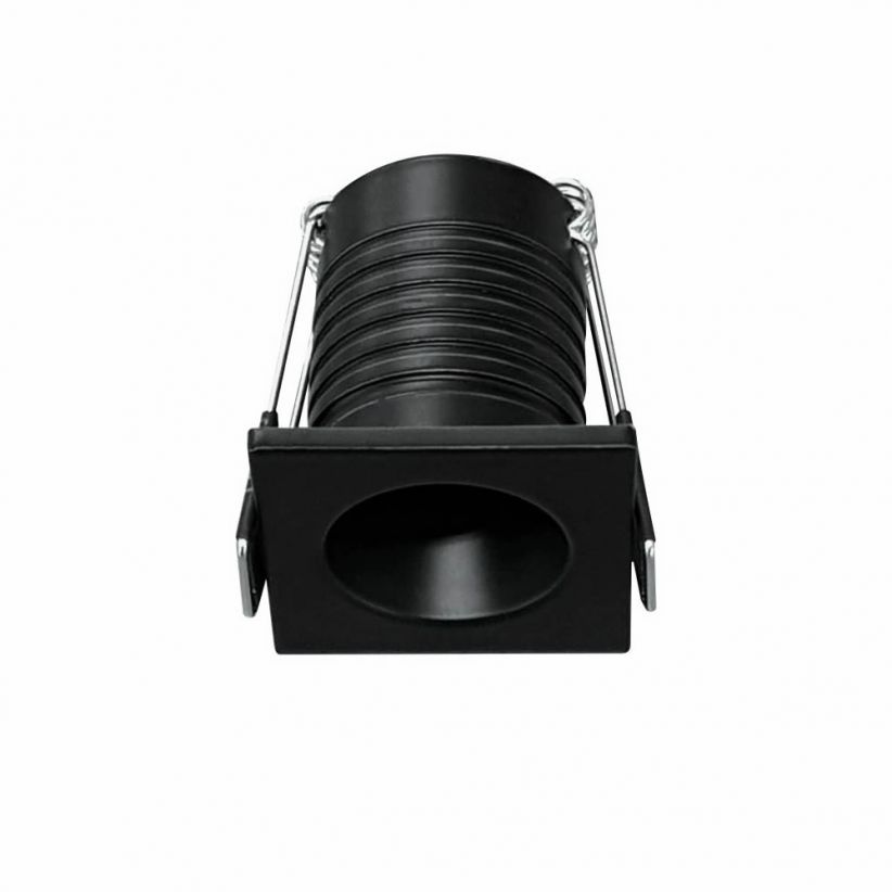 Mini spot LED encastrable Pulsar noir 3.5 Watts