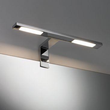 Spot LED sur patère pour miroir double Hook