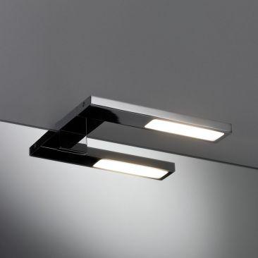 Spot LED sur patère pour miroir Hook