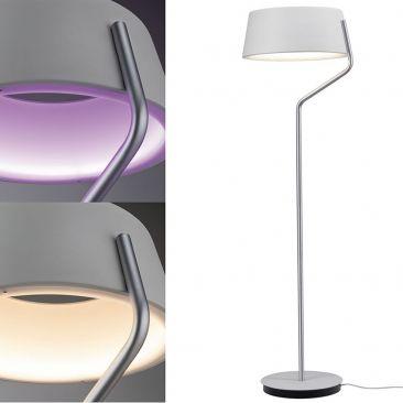 Lampadaire LED Belaja couleurs + blanc