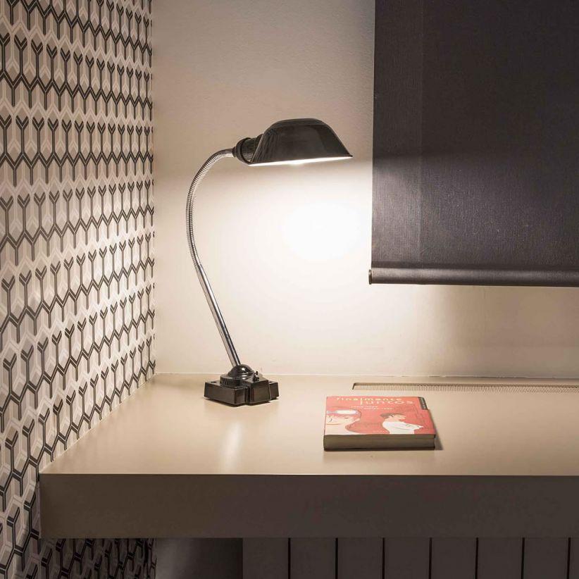 Lampe de bureau, liseuse Remake