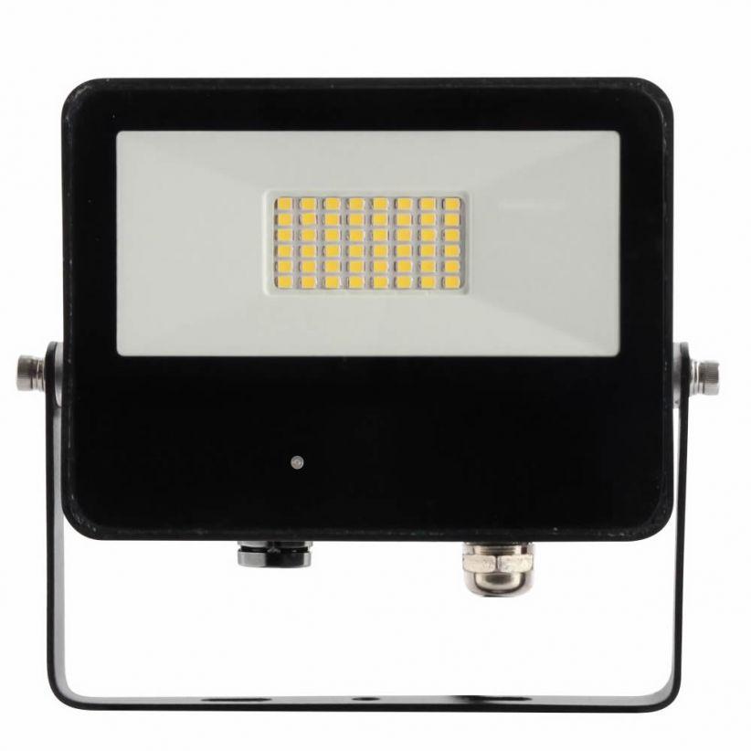 Projecteur LED 30 Watts Sky noir avec détecteur micro-ondes