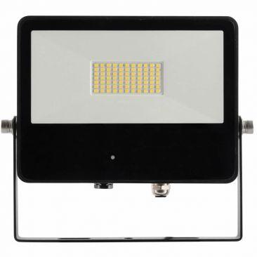 Projecteur LED 50 Watts Sky noir avec détecteur micro-ondes