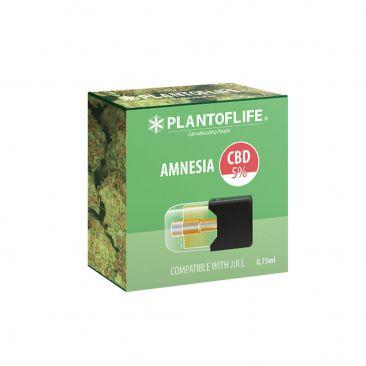 Cartouche Pod Amnesia 0.75 ML 5% de CBD - Cigarettes électroniques