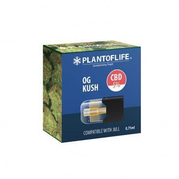 Cartouche Pod OG Kush 0.75 ML 5% de CBD - Cigarette électronique