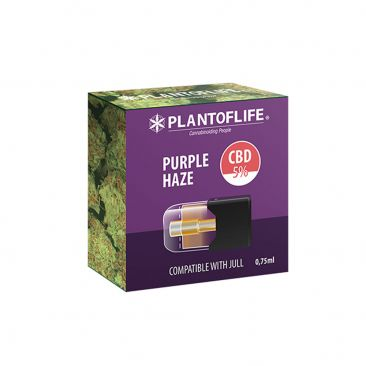 Cartouche Pod Purple Haze 0.75 ML 5% de CBD
