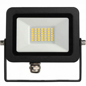 Projecteur LED 20 Watts Sky noir ALUMINIUM 220-240V 110º