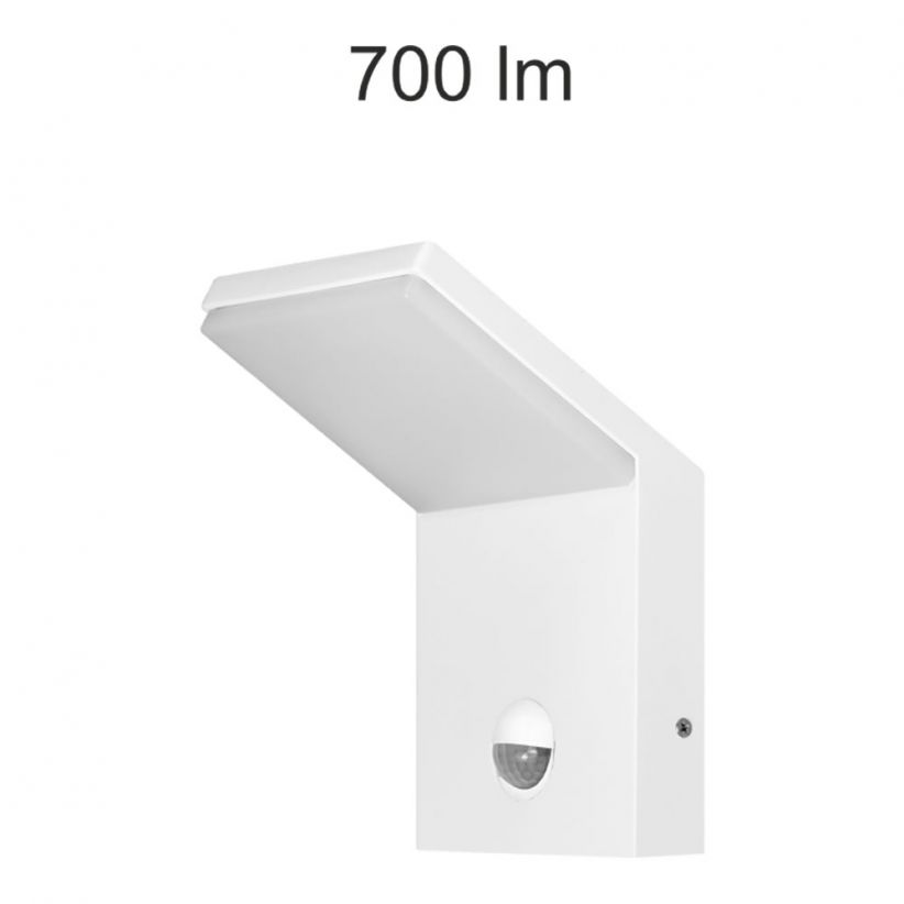 Applique LED Neo blanche avec détecteur - 9 Watts