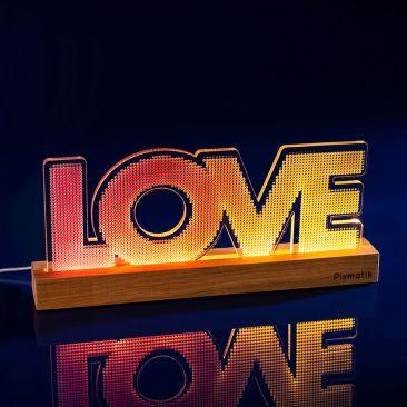 Lampe d'ambiance design LOVE