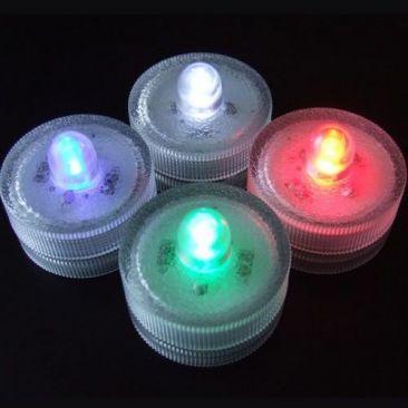 Bougie LED changement de couleurs