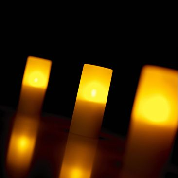 Bougie LED imitation flamme