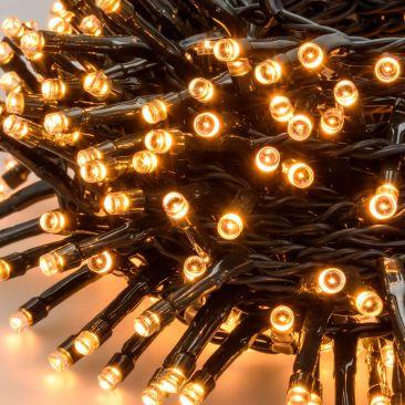 Guirlande 432 LED blanc chaud qualité pro