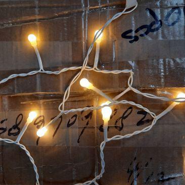 Pack de 3 guirlandes LED 25 petits globes