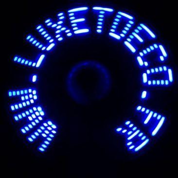 Ventilateur LED
