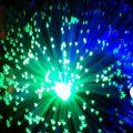 Centre de table fibres optiques LED