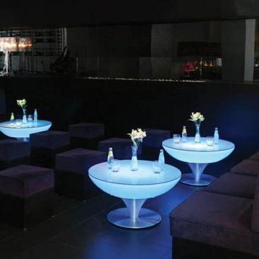 Table basse Lounge LED rechargeable
