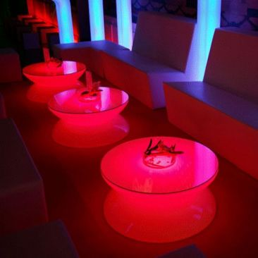Table basse Lounge LED RVB