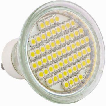 Ampoule 60 LED GU10 équivalent 35/40 Watts