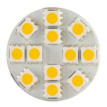 Ampoule LED G4 plate back pins