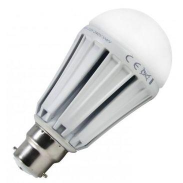 Ampoule LED B22 à baïonnette blanc chaud