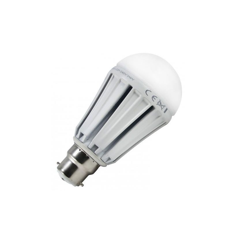 Ampoule LED B22 à baïonnette blanc froid