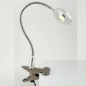 Liseuse LED Stud pince croco