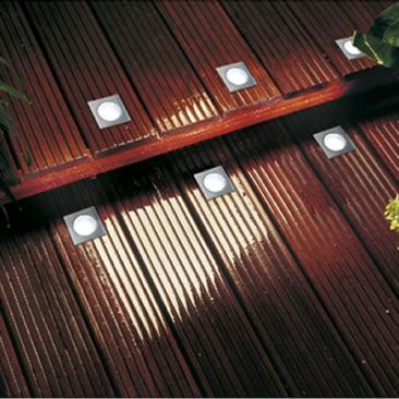 Spot LED carre pour terrasse - Pack d'extension