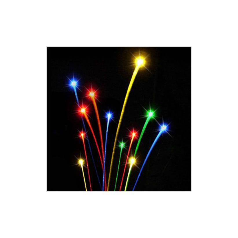Pack 600 fibres optiques LED RVB