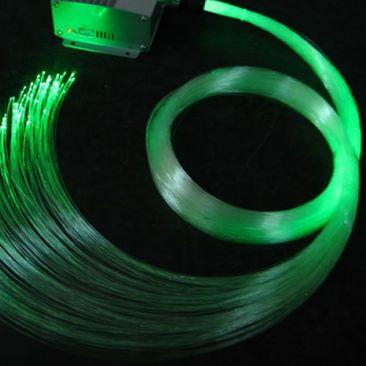 Pack 200 fibres optiques LED RVB