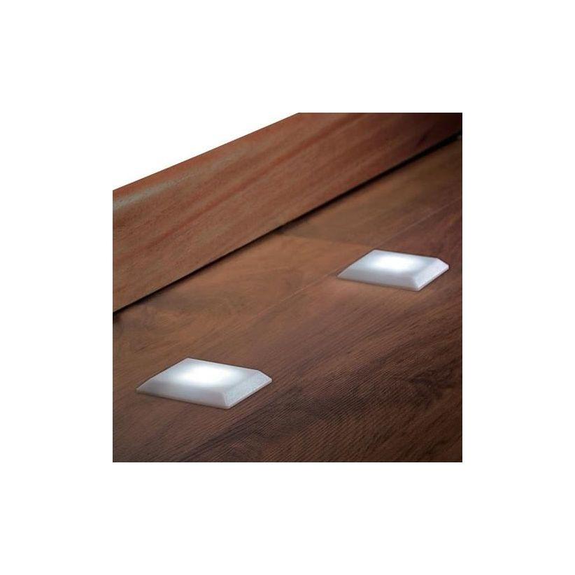 Spot LED pour le sol forme carrée
