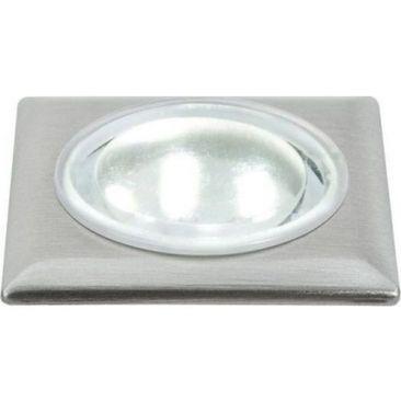 Spot LED carré pour le sol pack de 5