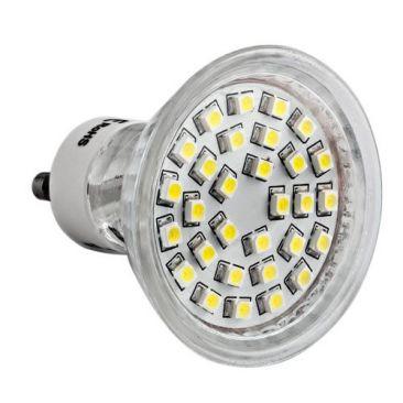 Ampoule 30 LED GU10 équivalent 20/30 Watts