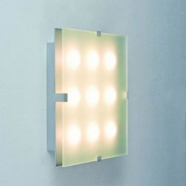 Applique LED carrée 3, 5, 6 ou 9 LED Xeta