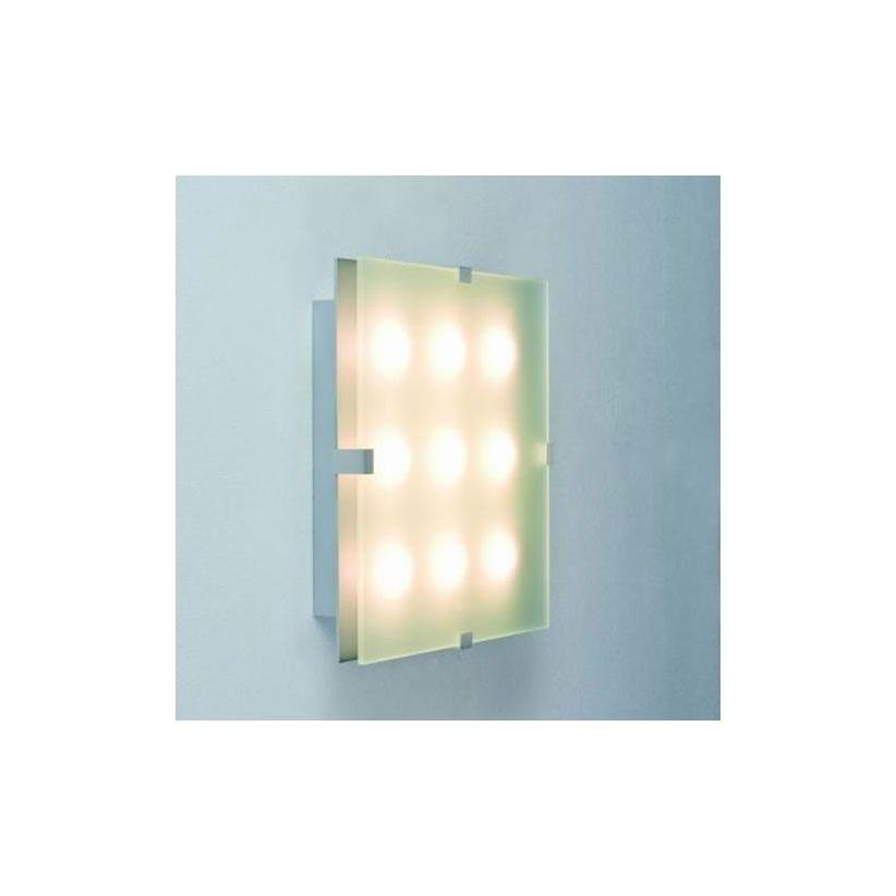 Applique LED carrée 3, 5, 6 ou 9 LED Xeta