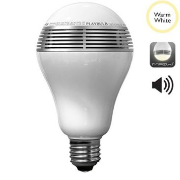 Ampoule LED connectée Bluetooth blanc chaud