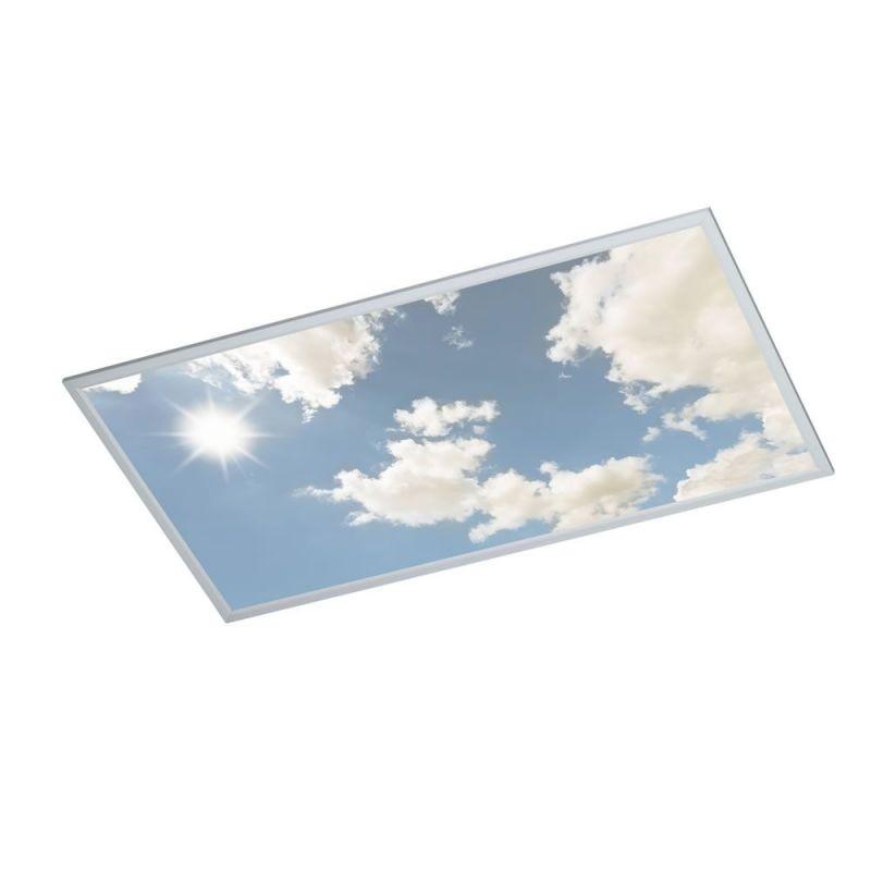 dalle led dimmable ciel bleu lux et d co dalle led dimmable ciel bleu