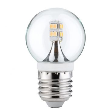Ampoule LED E27 petit globe transparent