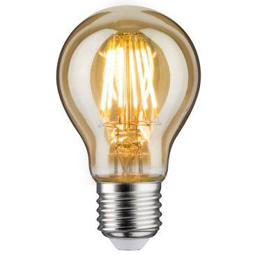 Ampoule LED std 7,5 watts E27 doré 230 V blanc chaud